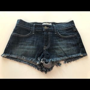 Wildfox denim shorts